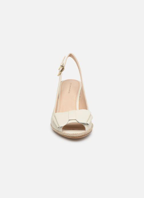 Escarpins COSMOPARIS LIZIA2 Blanc vue portées chaussures
