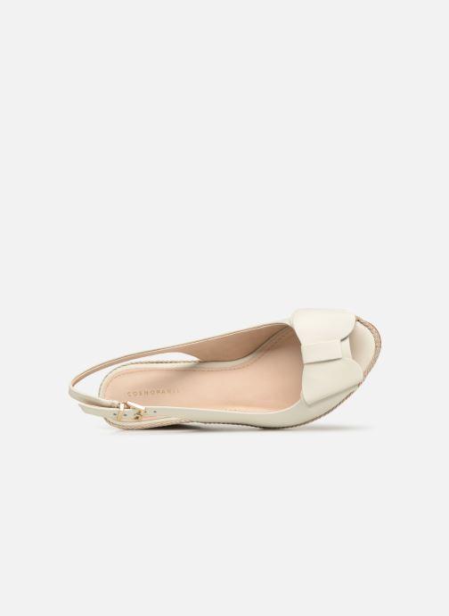Zapatos de tacón COSMOPARIS LIZIA2 Blanco vista lateral izquierda