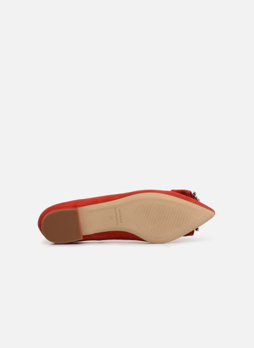 Ballerines COSMOPARIS MANEA Rouge vue haut