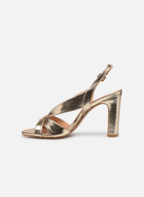 Sandali e scarpe aperte COSMOPARIS VICK Oro e bronzo immagine frontale