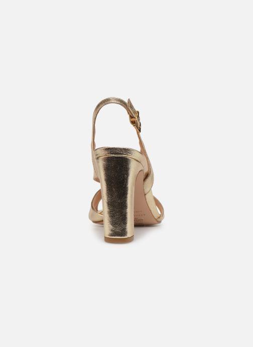 Sandalen COSMOPARIS VICK Goud en brons rechts