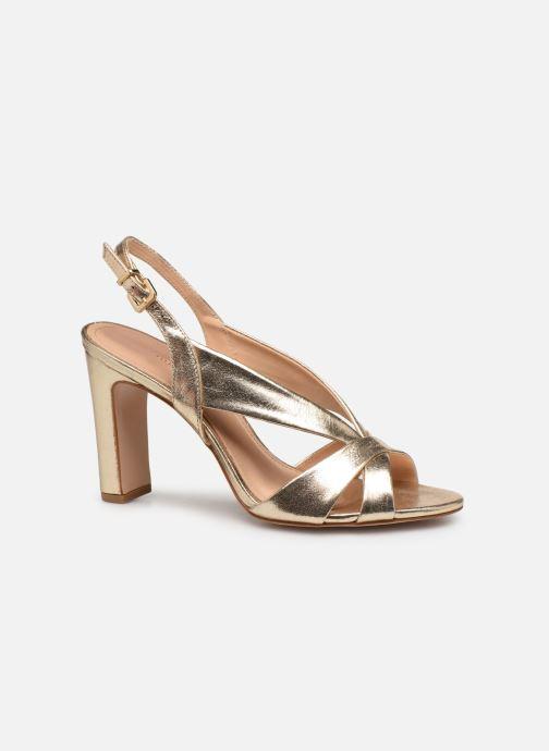 Sandali e scarpe aperte COSMOPARIS VICK Oro e bronzo immagine posteriore