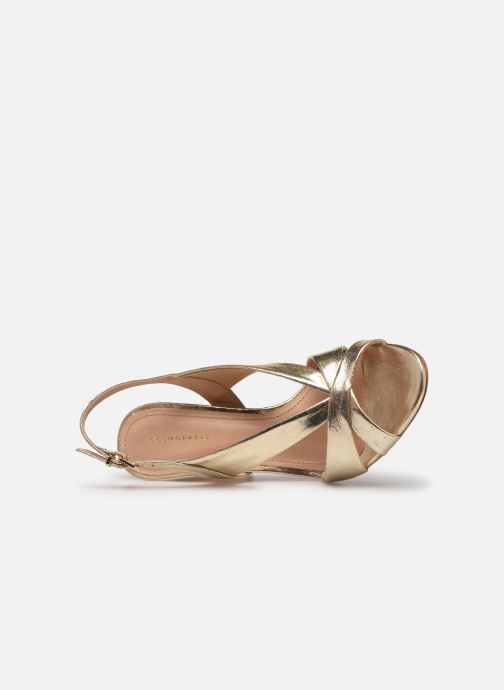 Sandali e scarpe aperte COSMOPARIS VICK Oro e bronzo immagine sinistra