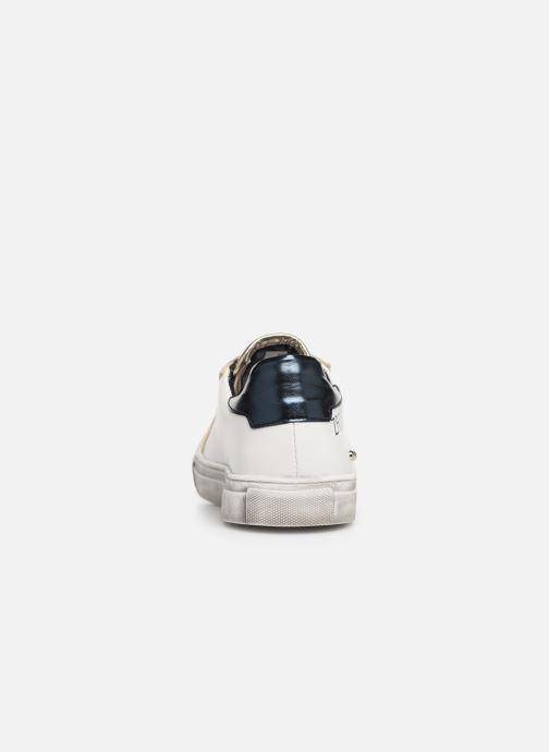 Baskets Zadig & Voltaire BASKET COEUR X19006 Blanc vue droite