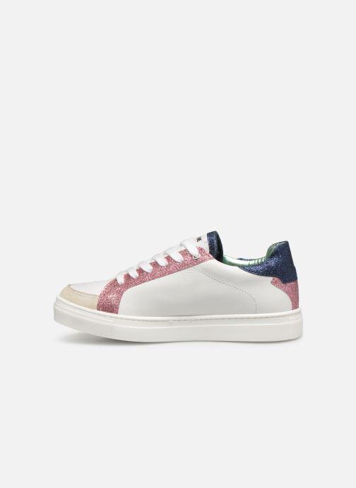 Sneakers Zadig & Voltaire BASKET ECLAIR X19006 Wit voorkant