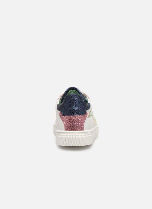 Sneakers Zadig & Voltaire BASKET ECLAIR X19006 Wit rechts
