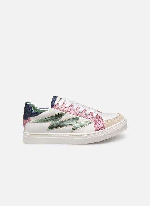 Sneakers Zadig & Voltaire BASKET ECLAIR X19006 Wit achterkant
