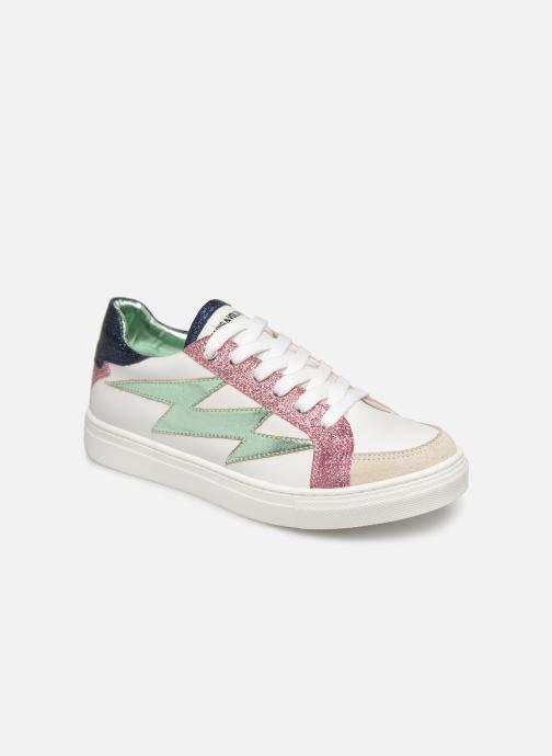 Sneakers Zadig & Voltaire BASKET ECLAIR X19006 Wit detail