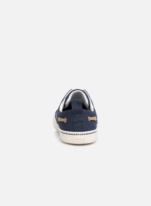 Baskets TOMS Pasadena BB Bleu vue droite