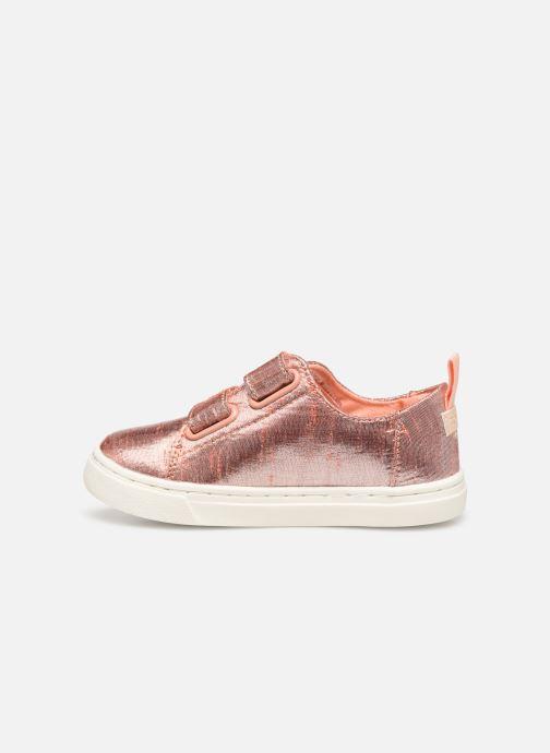 Sneakers TOMS Lenny Goud en brons voorkant