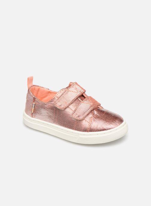 Sneakers TOMS Lenny Goud en brons detail