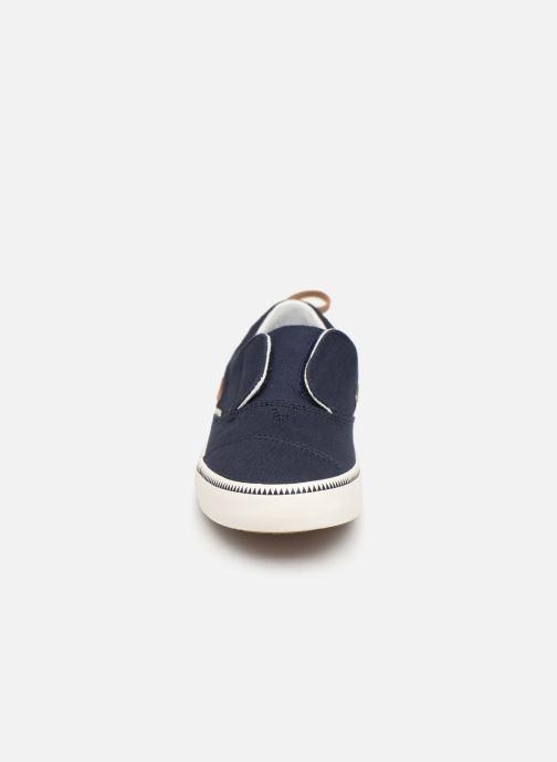Baskets TOMS Pasadena E Bleu vue portées chaussures