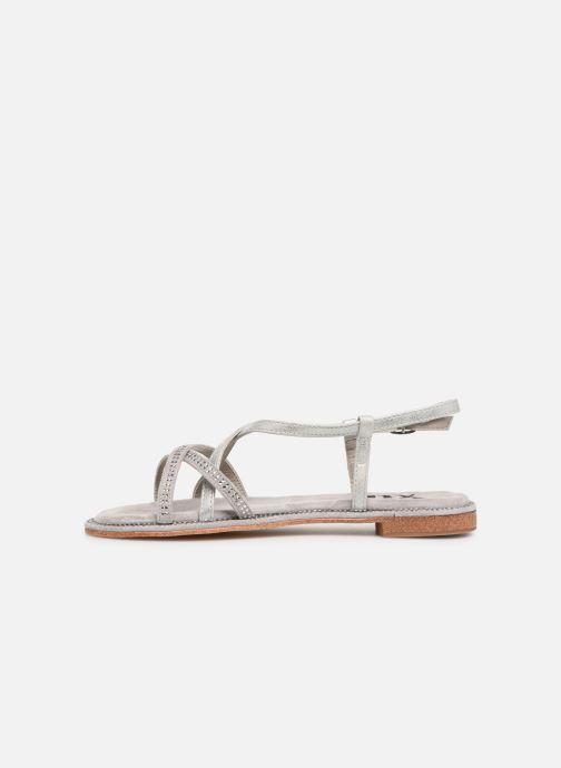 Sandales et nu-pieds Xti 56860 Gris vue face