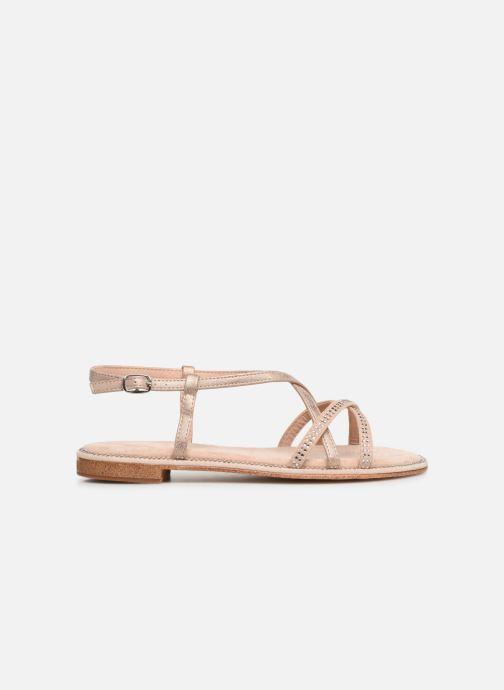 Sandales et nu-pieds Xti 56860 Beige vue derrière