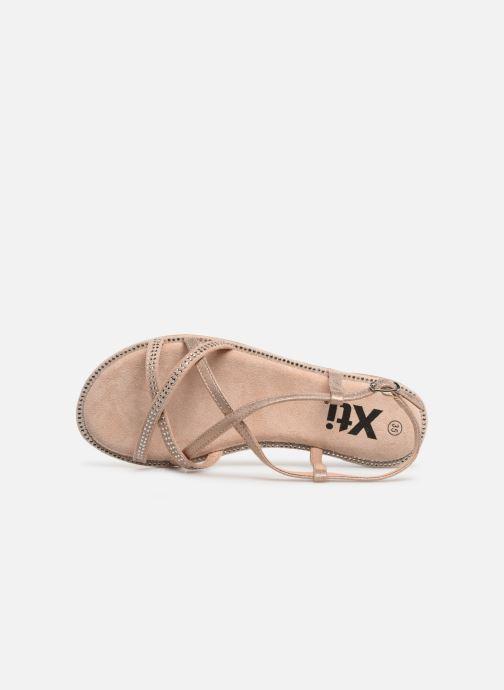 Sandales et nu-pieds Xti 56860 Beige vue gauche
