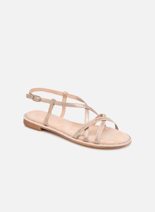 Sandales et nu-pieds Xti 56860 Beige vue détail/paire