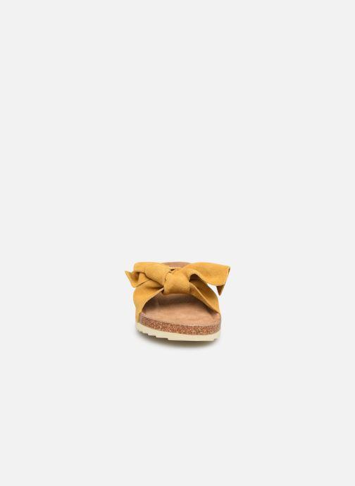 Sandales et nu-pieds Xti 56849 Jaune vue portées chaussures