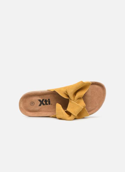 Sandales et nu-pieds Xti 56849 Jaune vue gauche