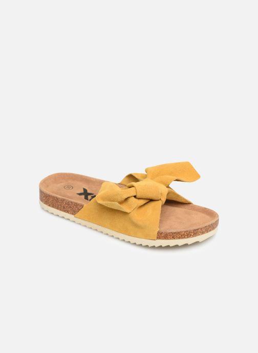 Sandales et nu-pieds Xti 56849 Jaune vue détail/paire