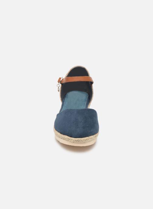 Espadrilles Xti 56868 Bleu vue portées chaussures