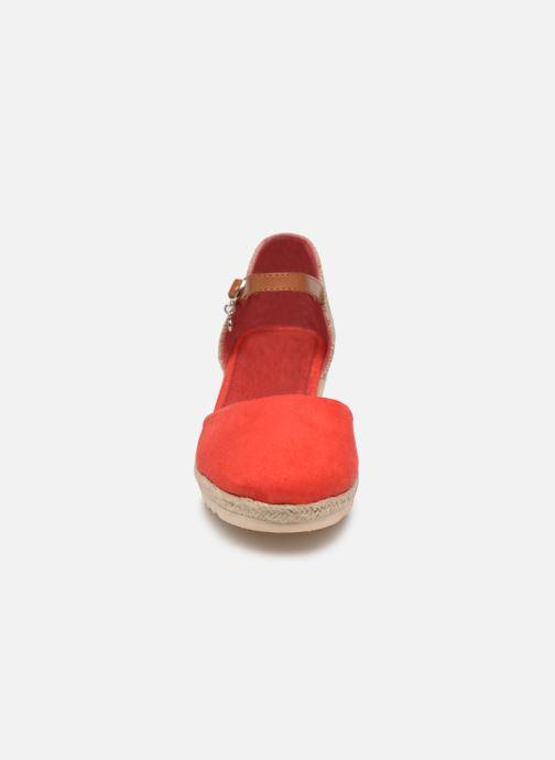 Espadrilles Xti 56868 Rouge vue portées chaussures