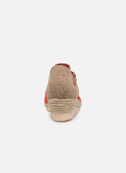 Espadrilles Xti 56868 Red view from the right