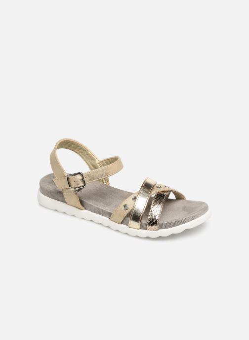 Sandales et nu-pieds Xti 56693 Or et bronze vue détail/paire