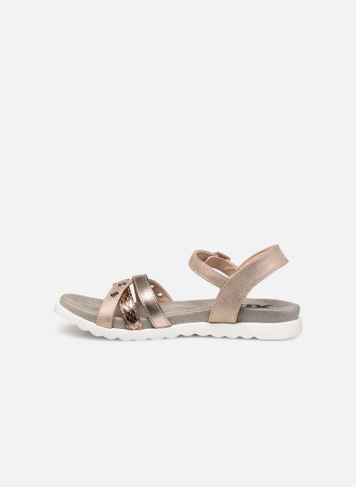 Sandales et nu-pieds Xti 56693 Beige vue face