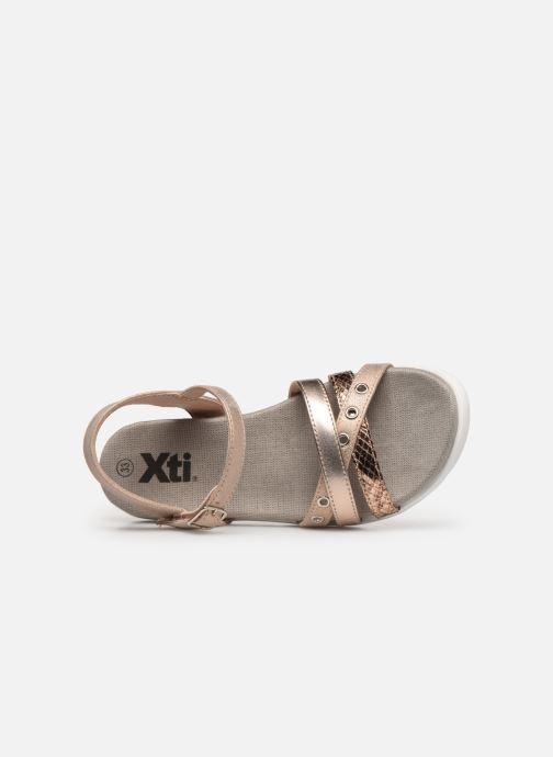Sandales et nu-pieds Xti 56693 Beige vue gauche