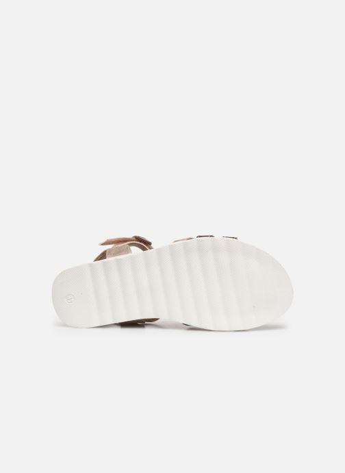 Sandales et nu-pieds Xti 56693 Beige vue haut
