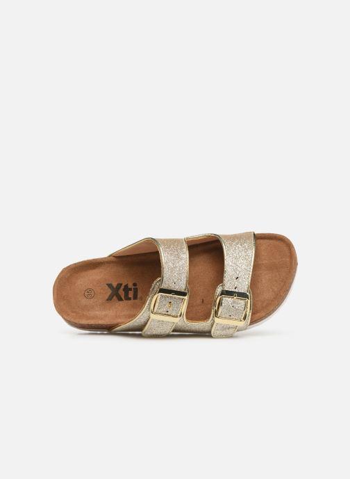 Sandalias Xti 56652 Oro y bronce vista lateral izquierda
