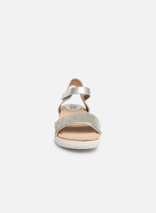 Sandales et nu-pieds Xti 56872 Argent vue portées chaussures
