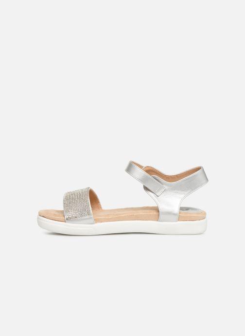 Sandales et nu-pieds Xti 56872 Argent vue face