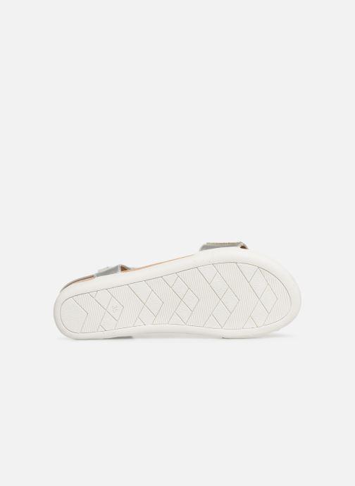 Sandales et nu-pieds Xti 56872 Argent vue haut