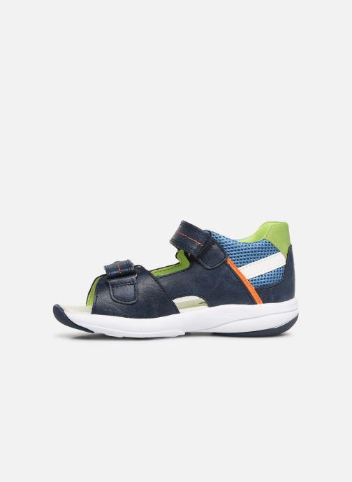 Sandales et nu-pieds Xti 56735 Bleu vue face