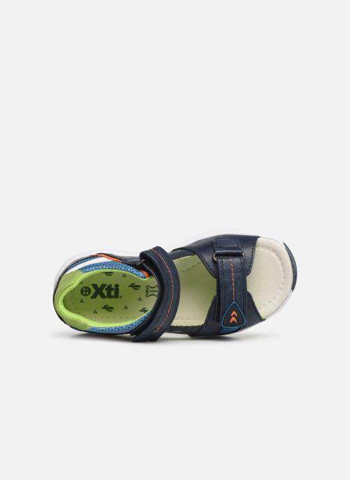 Sandales et nu-pieds Xti 56735 Bleu vue gauche
