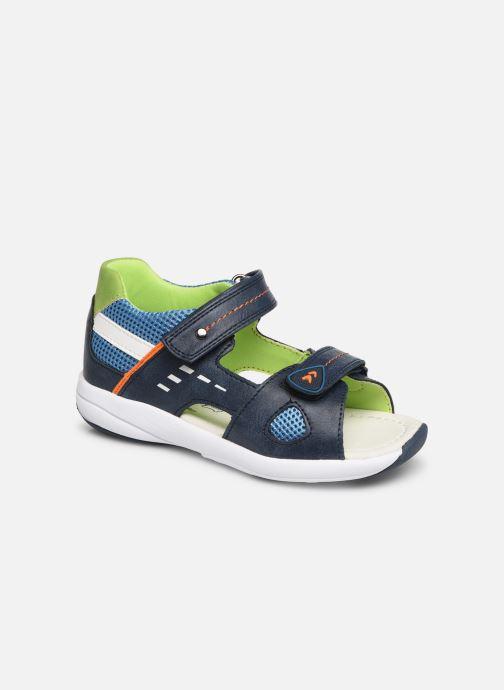 Sandales et nu-pieds Xti 56735 Bleu vue détail/paire