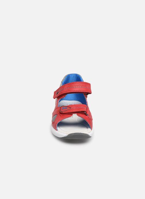 Sandales et nu-pieds Xti 56735 Rouge vue portées chaussures
