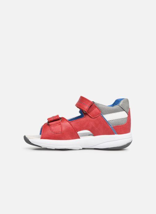 Sandales et nu-pieds Xti 56735 Rouge vue face