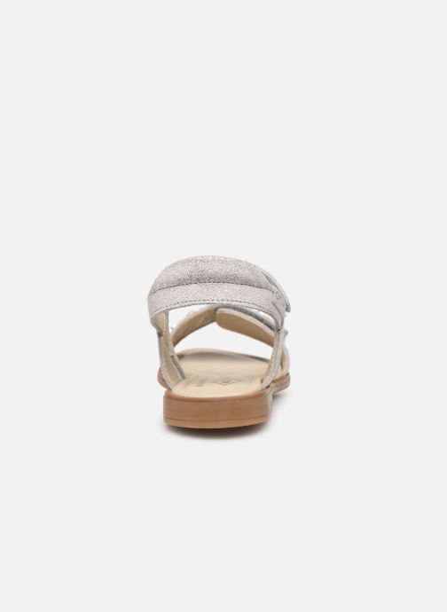 Sandals P-L-D-M By Palladium Sandy Silver view from the right