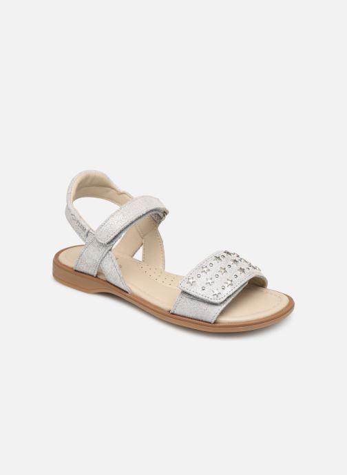 Sandales et nu-pieds P-L-D-M By Palladium Sandy Argent vue détail/paire