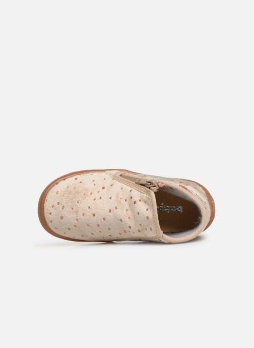 Pantoffels Babybotte Monaco Beige links