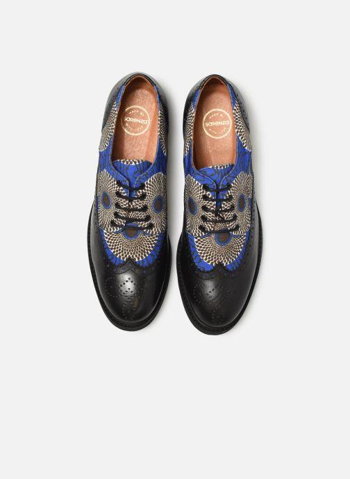 Lace-up shoes Made by SARENZA Pastel Affair Chaussures à Lacets #4 Blue model view