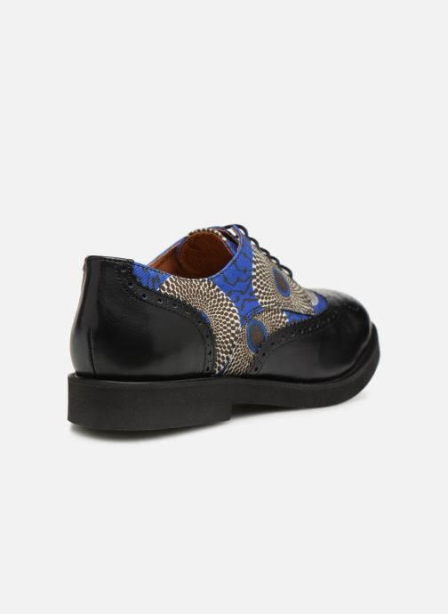 Lace-up shoes Made by SARENZA Pastel Affair Chaussures à Lacets #4 Blue front view