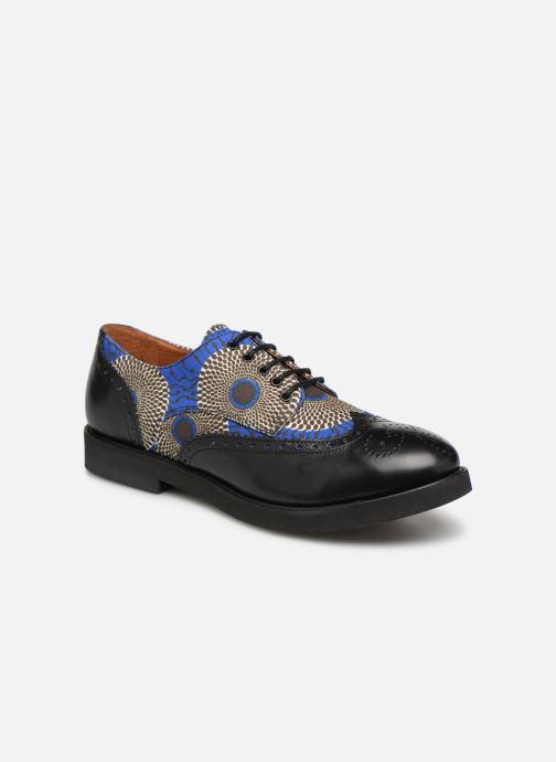 Zapatos con cordones Made by SARENZA Pastel Affair Chaussures à Lacets #4 Azul vista lateral derecha
