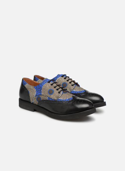Lace-up shoes Made by SARENZA Pastel Affair Chaussures à Lacets #4 Blue back view