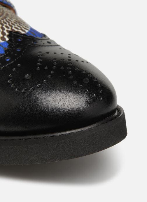 Zapatos con cordones Made by SARENZA Pastel Affair Chaussures à Lacets #4 Azul vista lateral izquierda