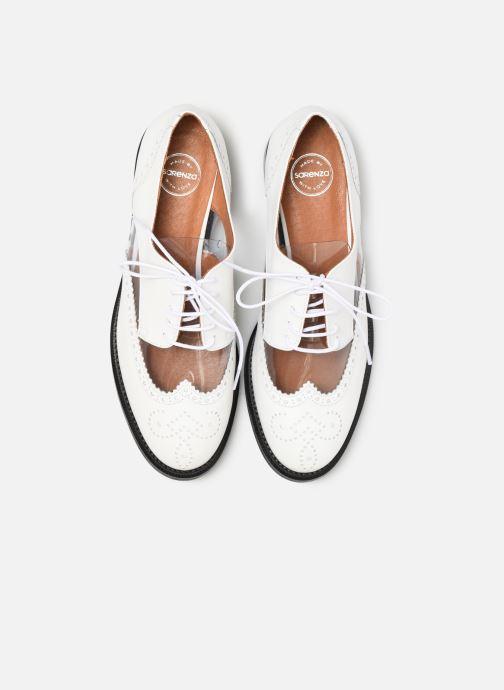 Scarpe con lacci Made by SARENZA Pastel Affair Chaussures à Lacets #4 Bianco modello indossato