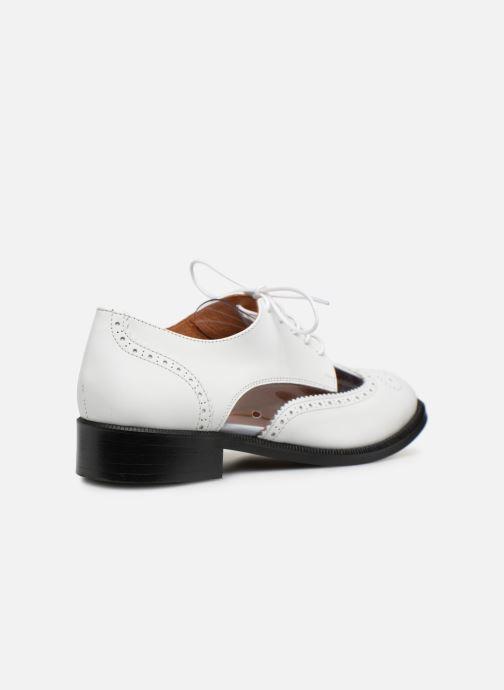 Zapatos con cordones Made by SARENZA Pastel Affair Chaussures à Lacets #4 Blanco vista de frente