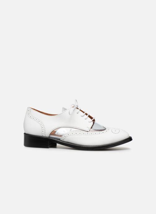 Snøresko Made by SARENZA Pastel Affair Chaussures à Lacets #4 Hvid detaljeret billede af skoene